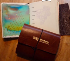 Create Your Own Wine Tasting Journal at Elizabeth Chambers Cellar